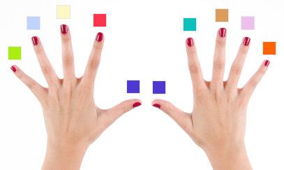 10 Parmak Klavye Eğitimi-Renkler