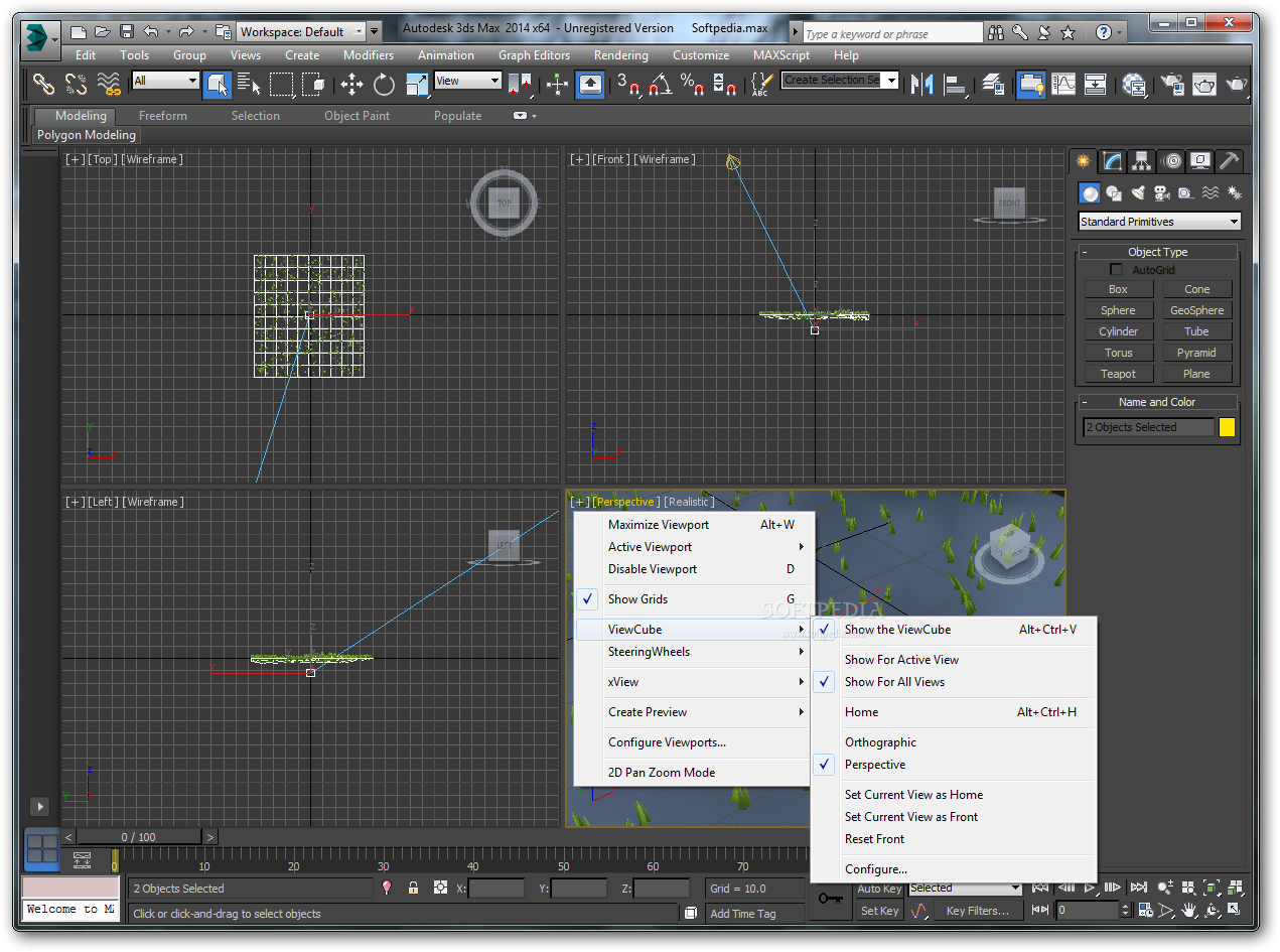Autodesk 3ds Max 2013 screenshot 1