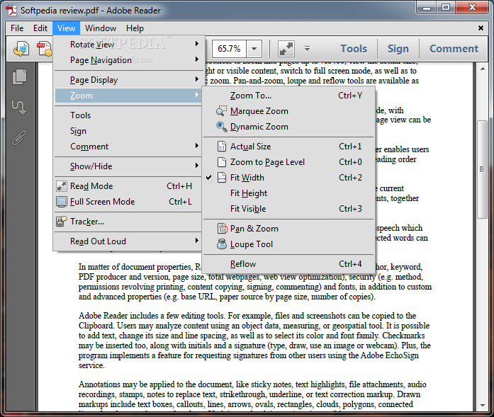 Adobe Reader view menu.png (697×589)