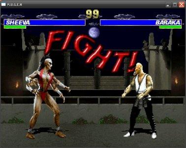Mortal Kombat Project screenshot 1