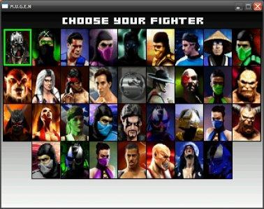 Mortal Kombat Project screenshot 2