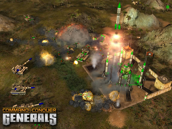Command & Conquer Generals Screenshot 1
