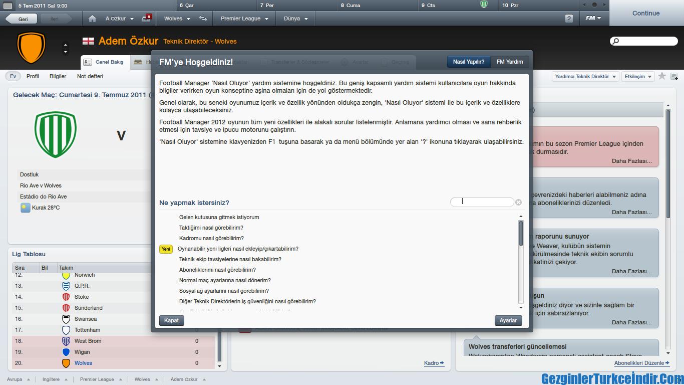 Football Manager 2012 Türkçe Yama ile ilgili görsel sonucu