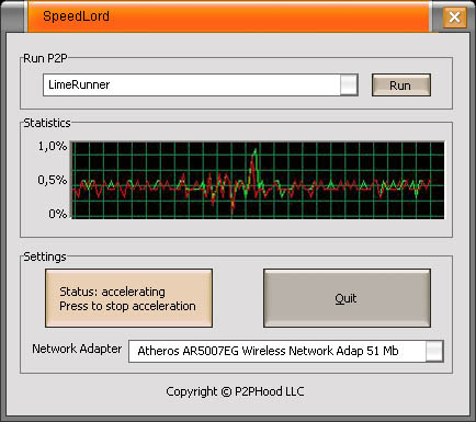 SpeedLord screenshot