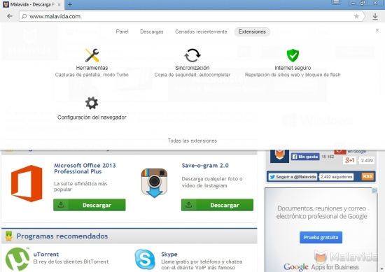 Yandex Browser 14.7.1916.15705