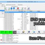 Burn4Free dvd yazma ve yedekleme programı