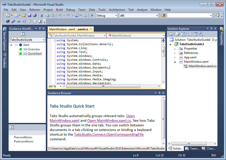 tabs-studio-guide-opened-in-visual-studio-2010.png (922×656)