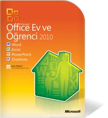 Microsoft Office Ev ve Öğrenci Sürümü-2010
