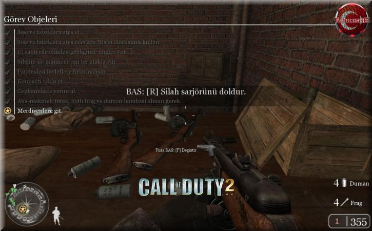 Call of Duty 2 Türkçe Yama