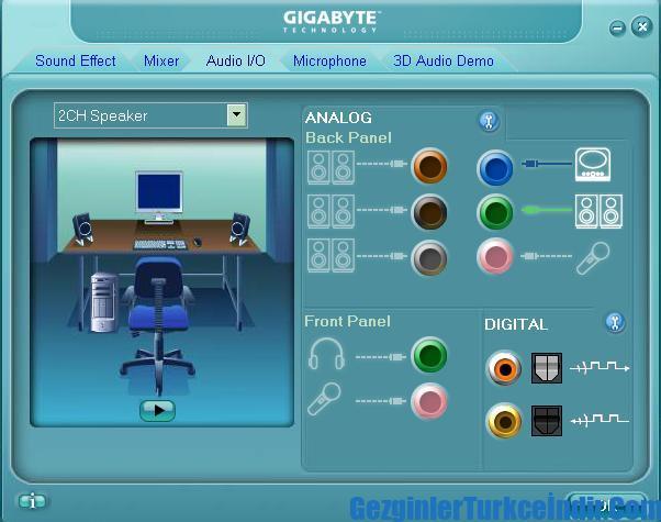 Realtek HD Audio Driver XP ile ilgili görsel sonucu