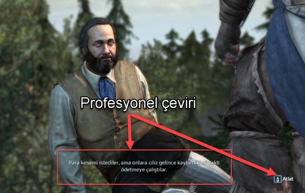 Assassin's Creed 3 Liberation Türkçe Yama nasıl kurulur