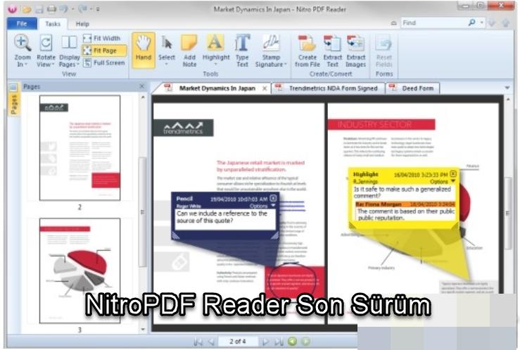 NitroPDF Reader Son Sürüm